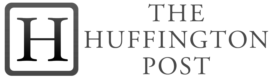 Logo huffington black